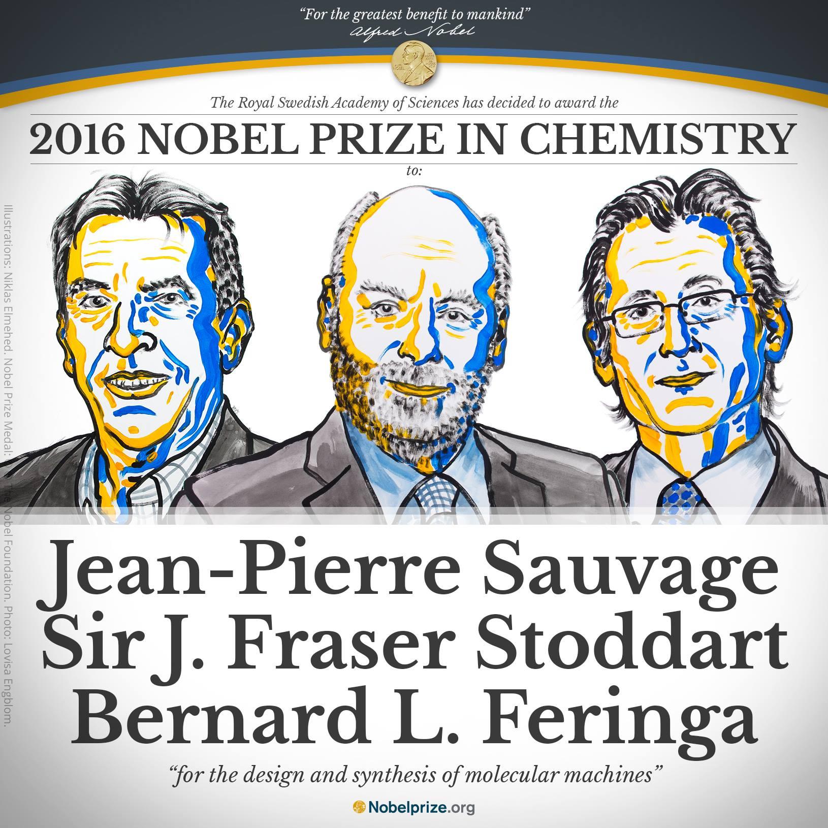 Nanomacchine e chimica supramolecolare – Nobel per la Chimica 2016