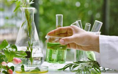 Una chimica verde e animata